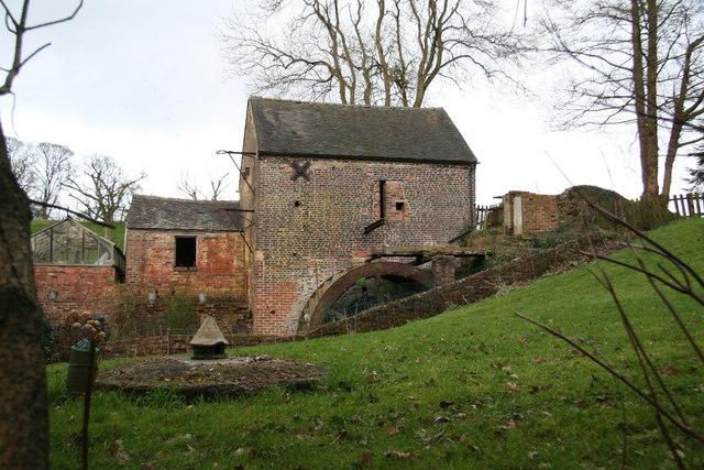 Top or Splashy Mill, Moddershall.