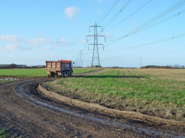 The Track to Poplar Farm