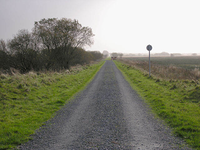 Old railway track near Dolbeudiau