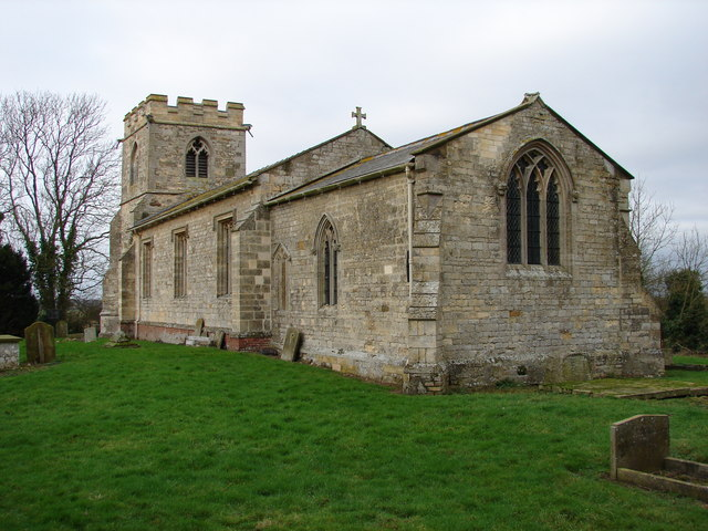 The Church of St Oswald, Rand