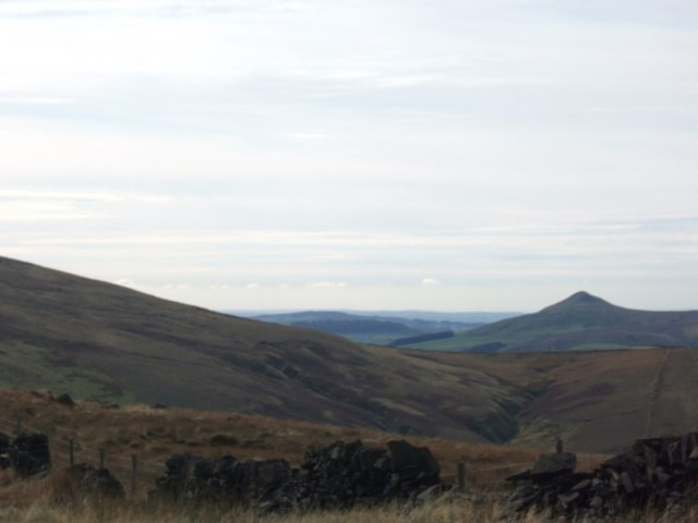 View towards Shutlingsloe