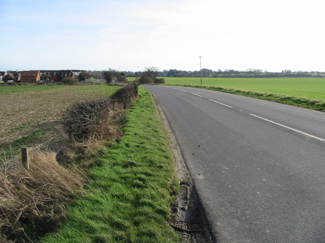 Looking SE along Station Road