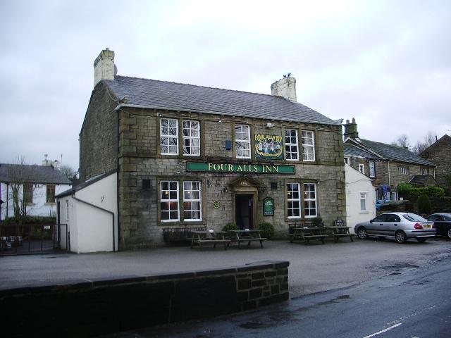 Four Alls Inn, Higham