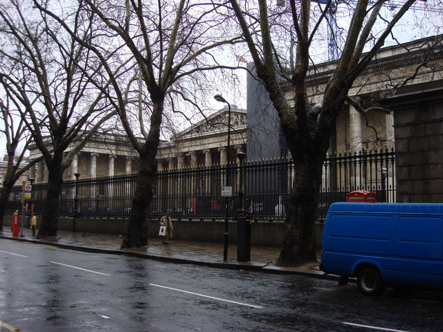 British Museum from Great Russell Street