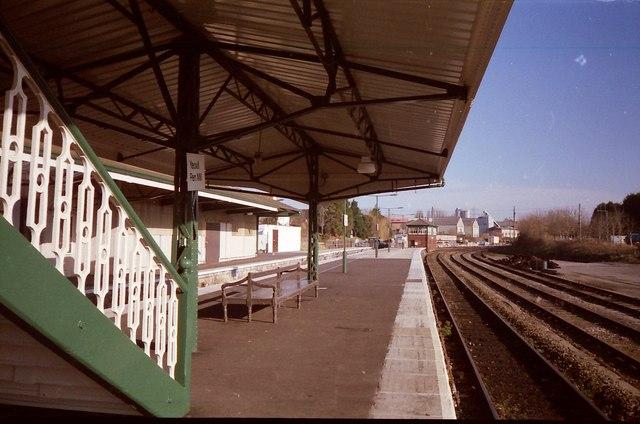 Yeovil Penn Mill Station.