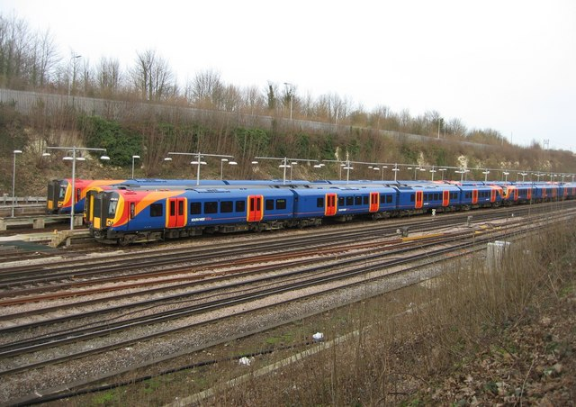 South West Trains - sidings
