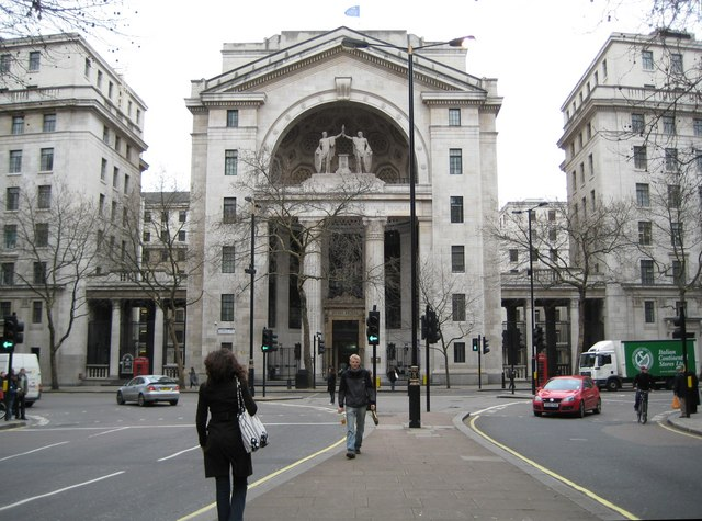 Aldwych: Bush House, WC2