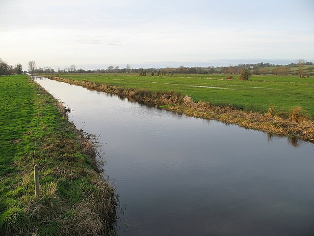 The North Drain on Westhay Moor