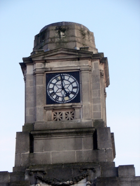 Aberystwyth Station Clock