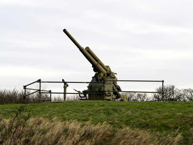 Paull Fort Museum Battery Gun