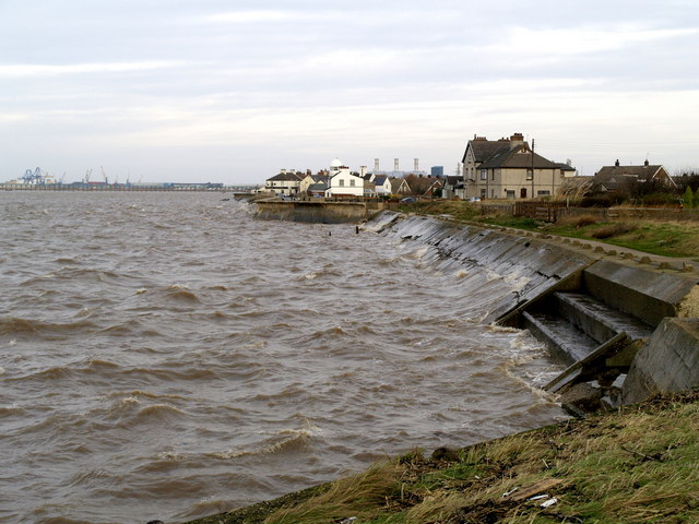 Paull's River Frontage at High Tide