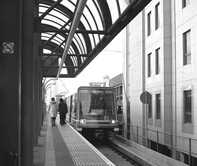 Car 03, Docklands Light Railway, at Tower Gateway