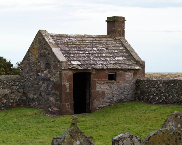 Watch House at Kirkside Cemetery, St. Cyrus