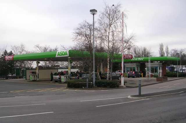 Asda Filling Station - Howley Park Road