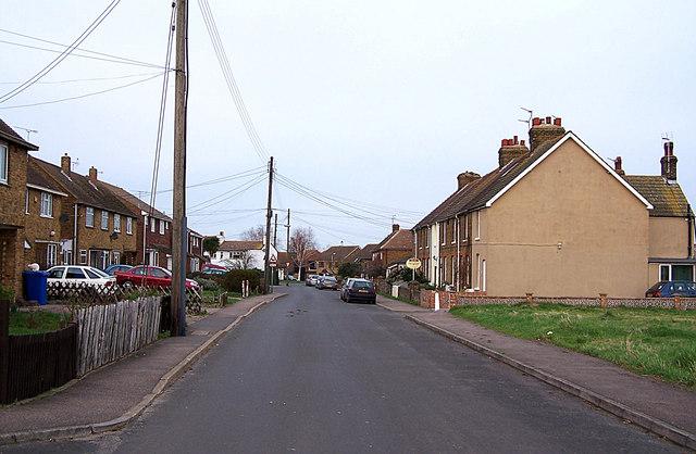 School Lane, Lower Halstow