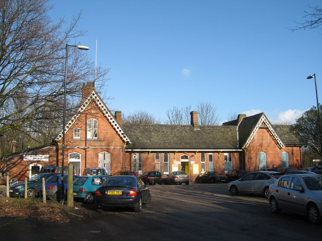 Hough Green Station