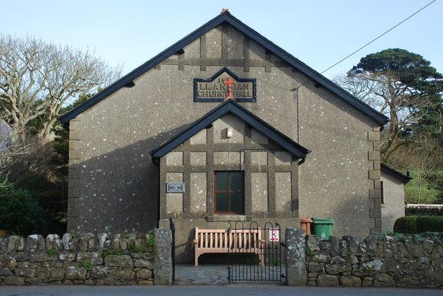 Neuadd yr Eglwys Llangïan Church Hall