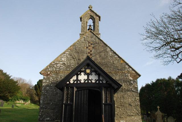 Eglwys S Cian Llangïan
