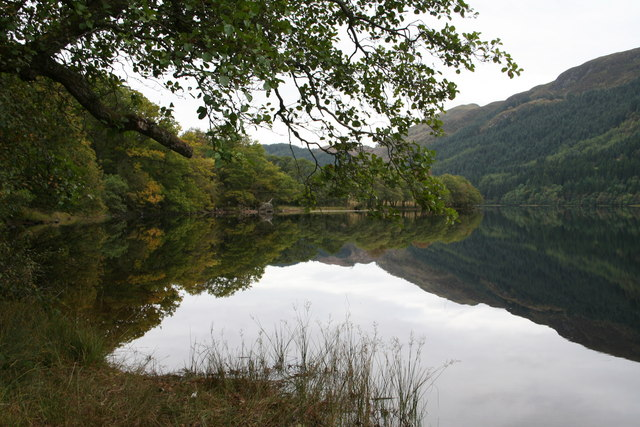 Loch Chon shoreline