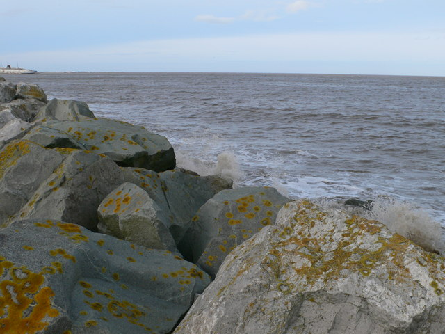 New embankment, Dee estuary
