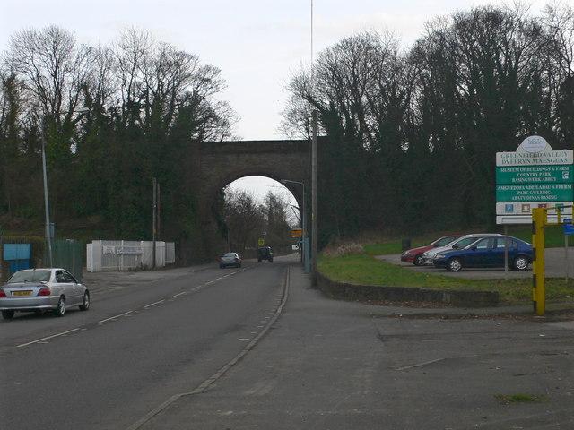 Old Railway Bridge and Car Park