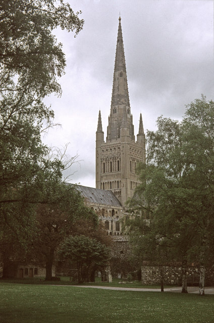 The Cathedral of the Holy and Undivided Trinity, Norwich, Norfolk