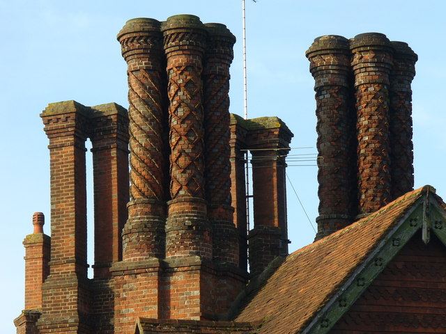 Pugin's Chimneys, Albury