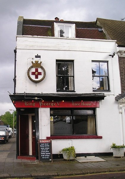The King George V pub, Old Brompton