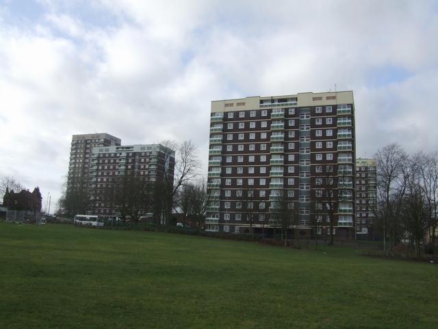 Flats on Sandbank Estate