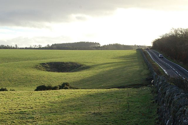 A915 near Cameron