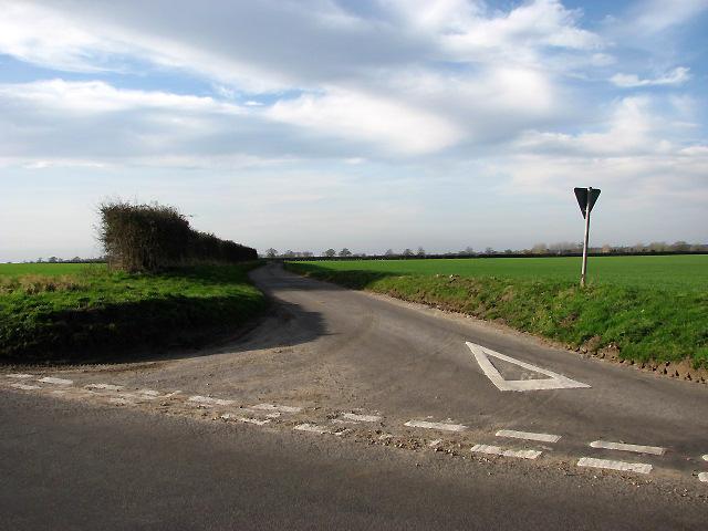 The narrow road to Coston