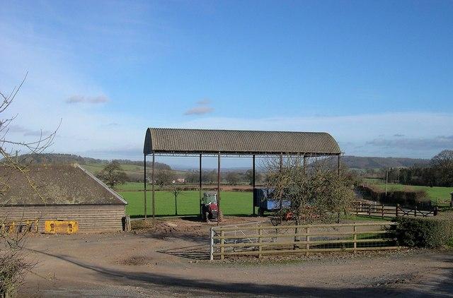 Dutch Barn, Wootton, King's Pyon