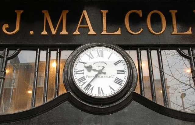 Malcolm's clock, Belfast