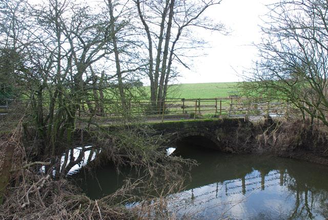River Divelish running under Blackwater Bridge