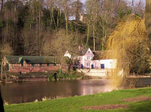 Boathouse on River Wear, Durham