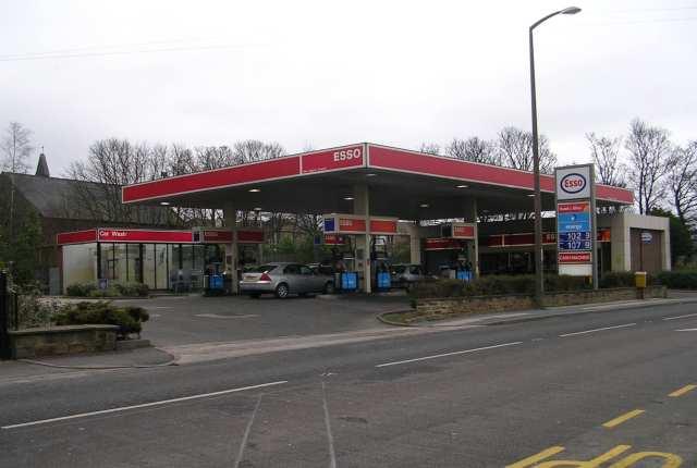 Esso Filling Station - Bradford Road