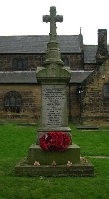East Ardsley War Memorial - St Michael's Churchyard, Church Street