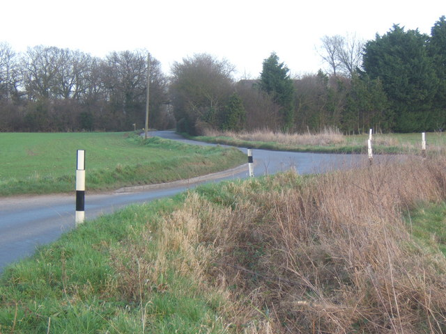 Bell's Cross Road, near Barham Green