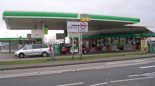 BP Filling Station - Bradford Road