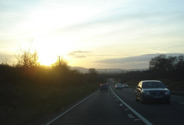 Sunset at Whittington