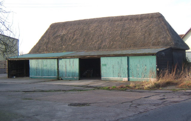 Thatched barn, Hemingstone