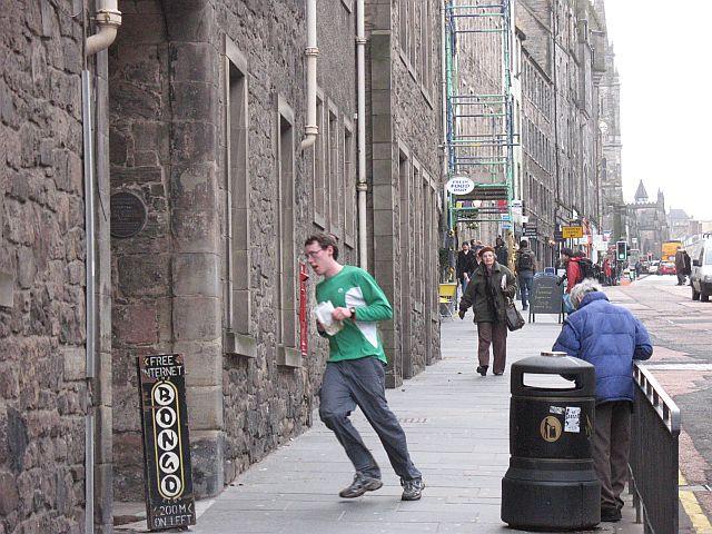 Orienteering, Edinburgh