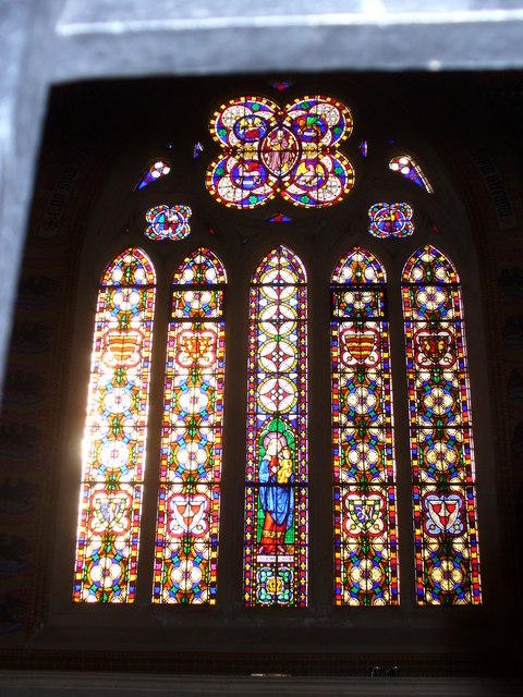 South Window, Albury Old Church