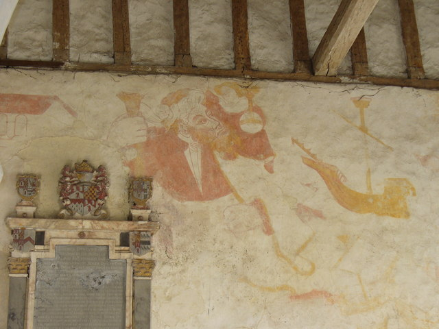 Wall Painting, Albury Old Church