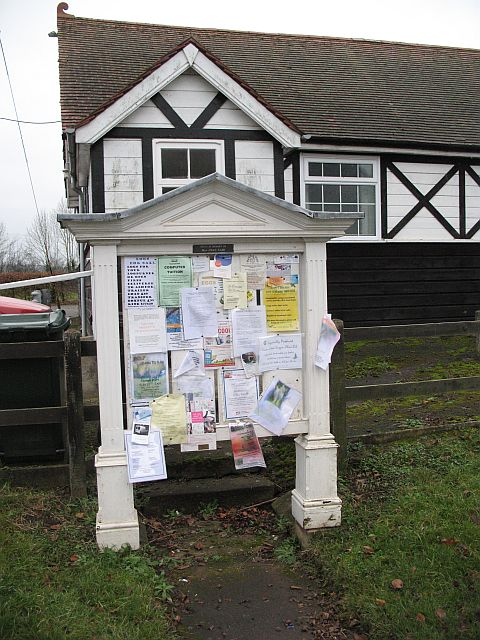 Village hall -  SO5270 : Ashford Carbonell, Post office - 4