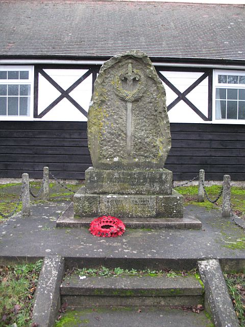 War memorial, Ashford Carbonel