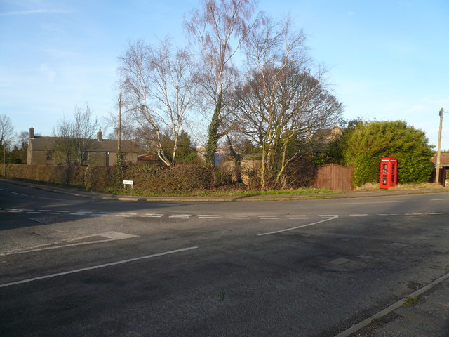 Blackwell - Church Hill Junction with Cragg Lane
