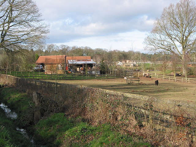 Poultry farm at Shaw Common