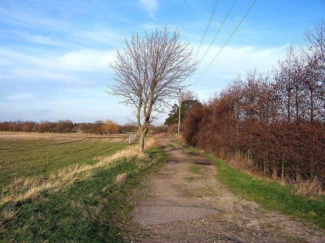 Track towards Culnells