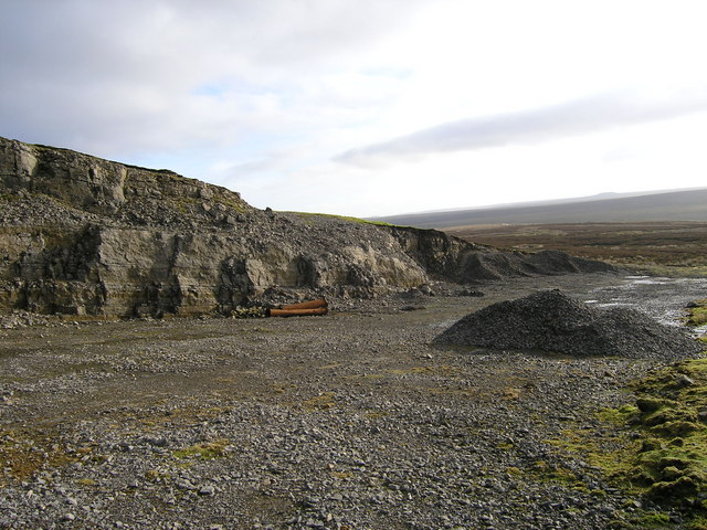 Disused quarry on Forest Side